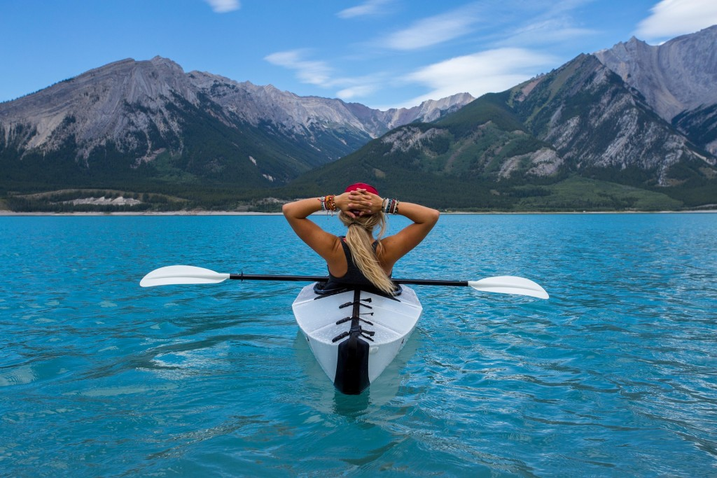 Kayaking produces endorphins, which can improve your mood and help you relax.